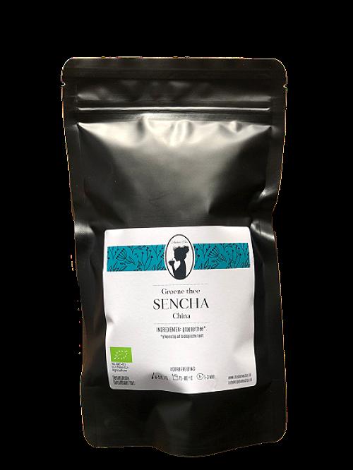 groene thee sencha bio verpakking