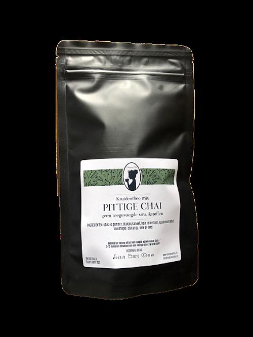 pittige chai mix verpakking