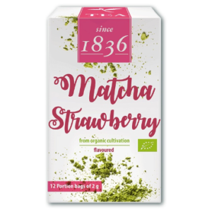 matcha strawberry pakketje