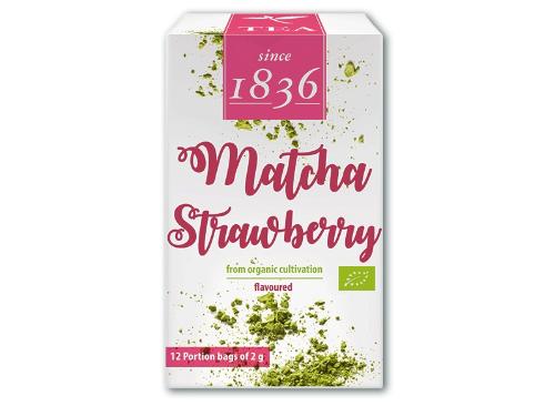 matcha strawberry pakketje