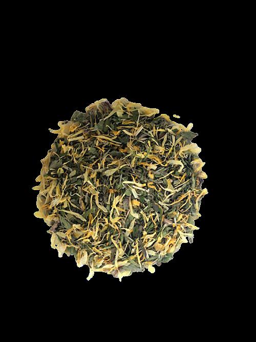 orange hemp thee bio groene theemix